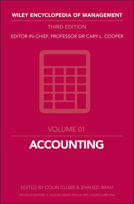 Accounting by Cary L. Cooper