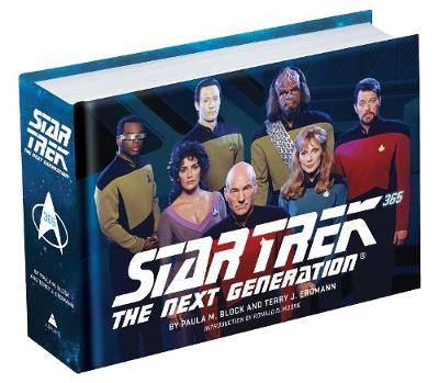 Star Trek: The Next Generation 365 by Paula M. Block