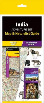 India Adventure Set: Map & Naturalist Guide by National Geographic Maps