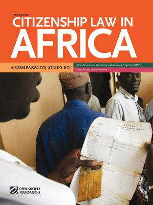 Citizenship Law in Africa. a Comparative Study by Bronwen Manby