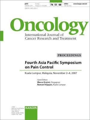 Asia Pacific Symposium on Pain Control by M. Ermini