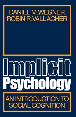 Implicit Psychology book