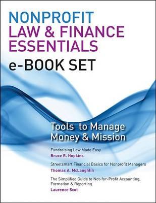 Nonprofit Law & Finance Essentials E-Book Set by Bruce R Hopkins
