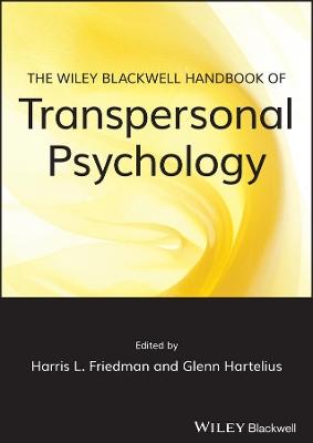 Wiley-blackwell Handbook of Transpersonal     Psychology book