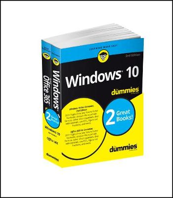 Windows 10 & Office 365 For Dummies, Book + Video Bundle by Andy Rathbone