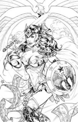 Coloring DC Wonder Woman TP by Various