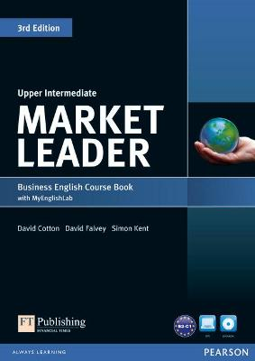 Market Leader 3rd Edition Upper Intermediate Coursebook with DVD-ROM and MyLab Access Code Pack by David Cotton