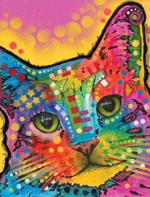 Dean Russo Tilted Head Cat Journal by Dean Russo