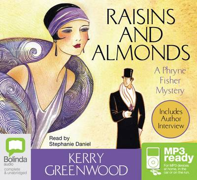 Raisins and Almonds (MP3) by Kerry Greenwood