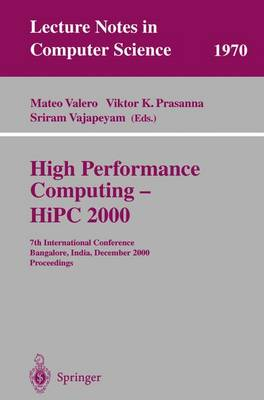 High Performance Computing - HiPC 2000 by Mateo Valero