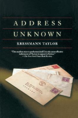 Address Unknown by Kathrine Kressmann Taylor