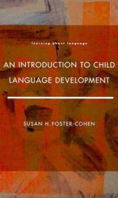 Introduction to Child Language Development book