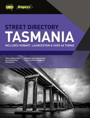 Tasmania Street Directory 21st ed by UBD Gregory's