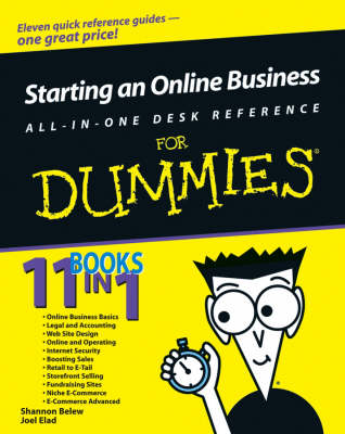 Starting an Online Business All-in-One Desk Reference For Dummies by Shannon Belew