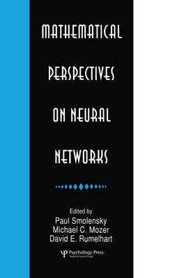Mathematical Perspectives on Neural Networks by Paul Smolensky