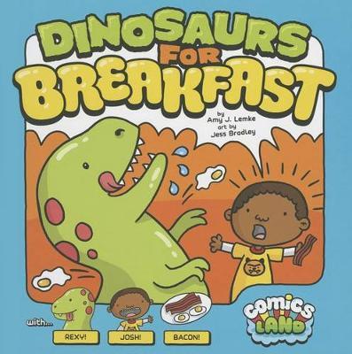 Dinosaurs for Breakfast book