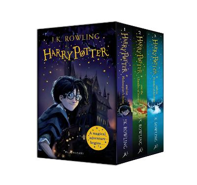 Harry Potter 1-3 Box Set: A Magical Adventure Begins by J.K. Rowling