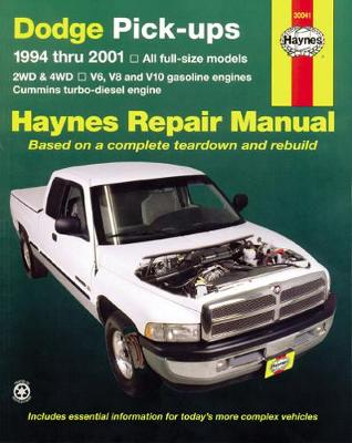 Dodge Pick-ups Automotive Repair Manual by Mike Stubblefield