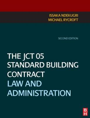 JCT 05 Standard Building Contract book