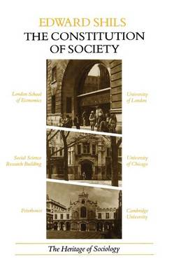 Constitution of Sociology by Edward Shils