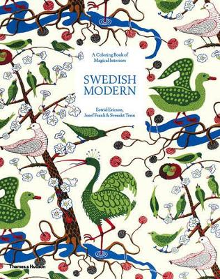 Swedish Modern: A Colouring Book of Magical Interiors by Janet Colletti