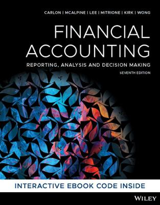 Financial Accounting: Reporting, Analysis and Decision Making book