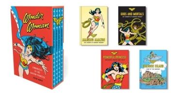 Wonder Woman: Chronicles of the Amazon Princess: (4 hardcover, illustrated books) by Steve Korte