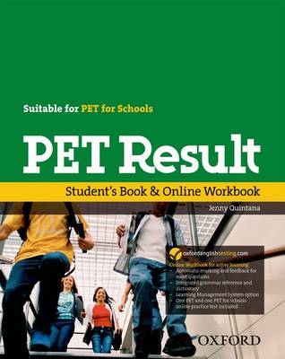 PET Result:: Student's Book & Online Workbook by Jenny Quintana