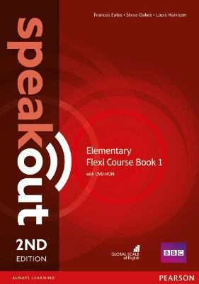 Speakout Elementary 2nd Edtion Flexi Coursebook 1 Pack by Frances Eales