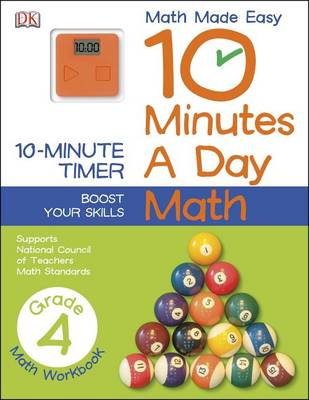 10 Minutes a Day: Math, Fourth Grade by DK Publishing