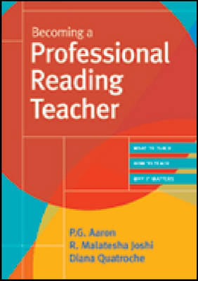 Becoming a Professional Reading Teacher book