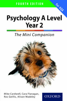 Complete Companions for AQA: A Level Year 2 Psychology: The Mini Companion book