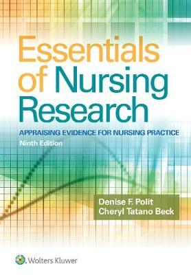 Essentials of Nursing Research book