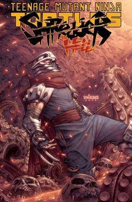 Teenage Mutant Ninja Turtles: Shredder In Hell by Mateus Santolouco
