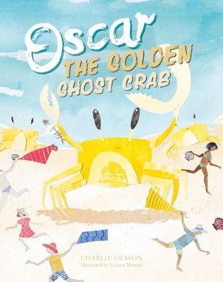 Oscar the Golden Ghost Crab by Charlie Olsson