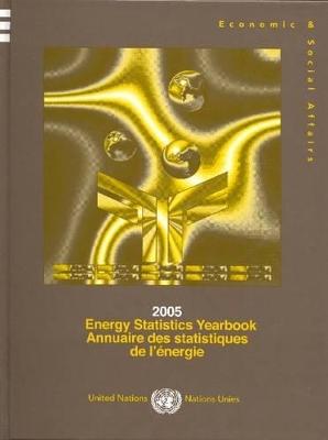 2005 Energy Statistics Yearbook book