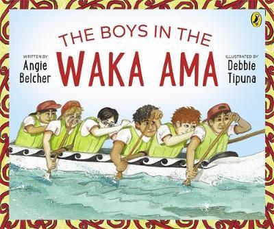 The Boys in the Waka Ama book
