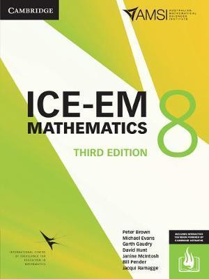 ICE-EM Mathematics 3ed Year 8 Print Bundle (Print Textbook and Interactive Textbook) by Peter Brown