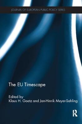 The EU Timescape by Klaus H. Goetz