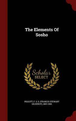 Elements of Sosho by Francis Stewart