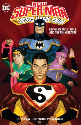 New Super-Man and the Justice League China book