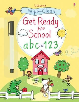 Wipe-Clean Get Ready for School ABC and 123 book