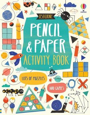 Pencil and Paper Activity Book by James Maclaine