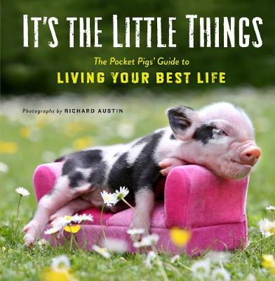 It's the Little Things: The Pocket Pigs' Guide to Living Your Best Life (Inspiration Book, Gift Book, Life Lessons, Mini Pigs)) by Richard Austin