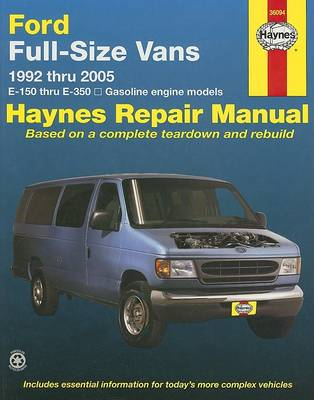 Ford Full-Size Vans (92 - 05) by Ralph Rendina