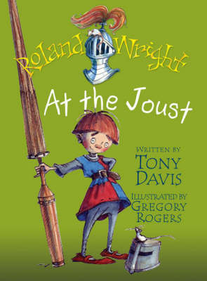 Roland Wright At The Joust by Tony Davis