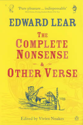 The Complete Nonsense and Other Verse by Edward Lear