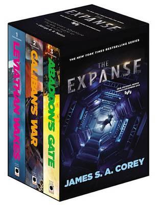 The Expanse Boxed Set: Leviathan Wakes, Caliban's War and Abaddon's Gate by James S A Corey