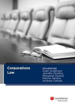 Corporations Law by C Anderson