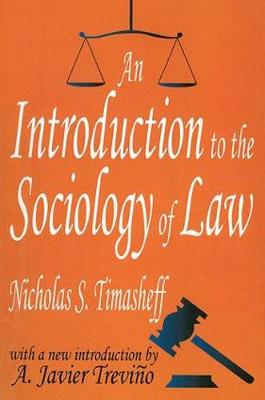 Introduction to the Sociology of Law book